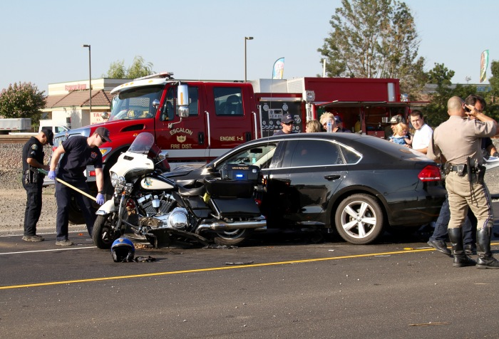 CHP MOTORCYCLE ACCIDENT – WeEscalon