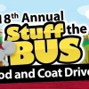 San Joaquin RTD's 18th Annual Stuff the Bus Food and Coat Drive.