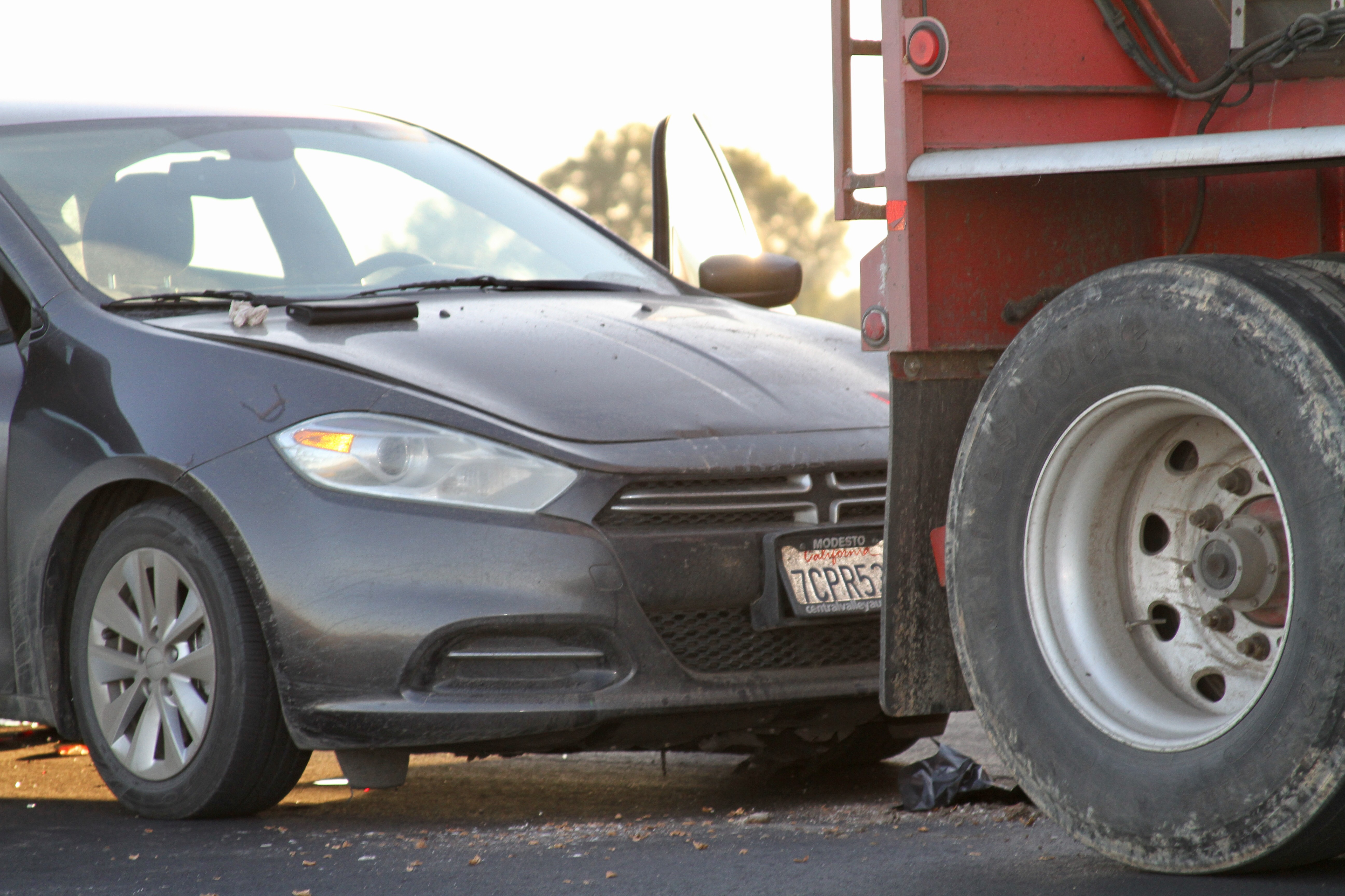Four-Vehicle Accident On Escalon Bellota Road – WeEscalon