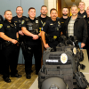 Local Family Assists Officers With Equipment Purchase