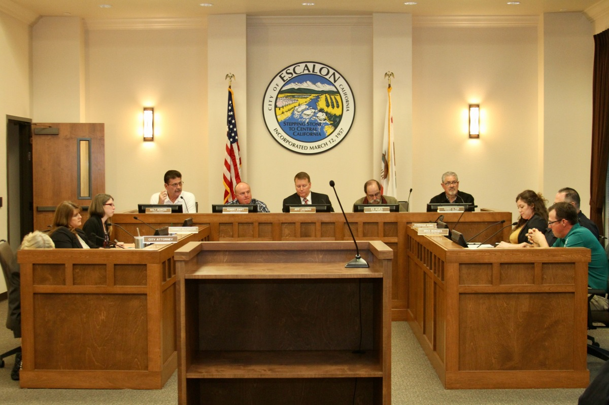Escalon City Council Meeting Agenda