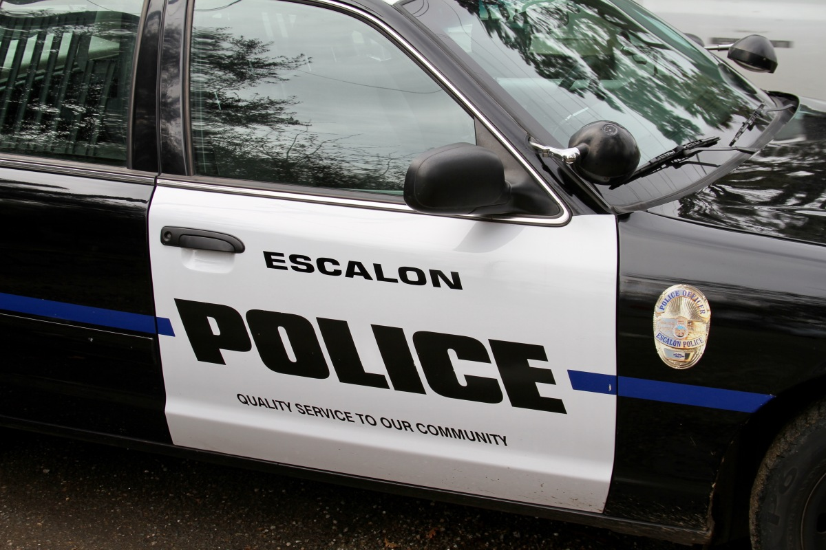 Escalon Police Department's Weekly Activity Log