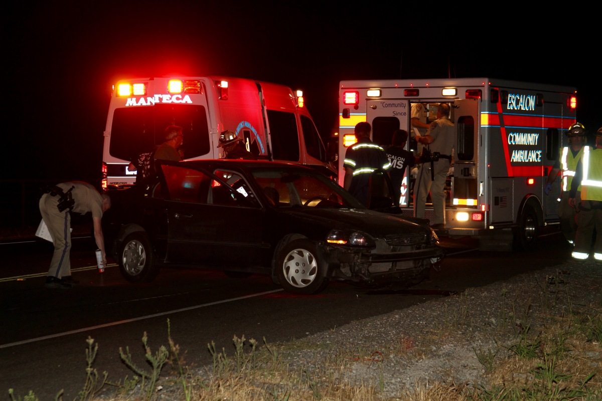 Injury Accident on Escalon Bellota Road near Mariposa Road